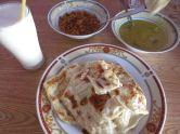 Frühstück - Roti mit Curry