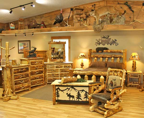 Millers Rustic Furniture  Rustic Log Furniture  Ohio