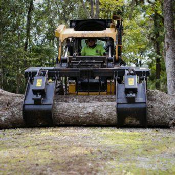 Stump Removal Using Heavy Equipment - Citrus County