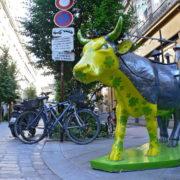 La Vach' Allais de Honfleur - Artiste : Promotion 2006 - Ecole d'Arts Graphiques de Honfleur - Sponsor : Honfleur