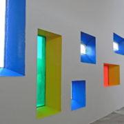 Le Corbusier à Firminy, Les couleurs primaires