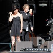 Clarika et Allain Leprest (fête de l'huma 2010)