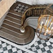 Le petit Trianon: le vestibule