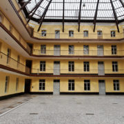 Le pavillon central du palais social