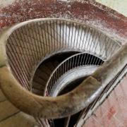 escalier aile gauche