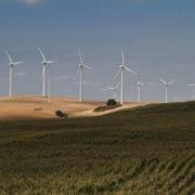 Parc éolien au nord des Bardenas
