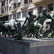 Monument à l'Encierro, Pampelune