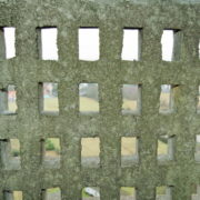 Le Corbusier, La maison radieuse de Rezé, L'appartement: détail garde corps balcon