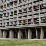 Le Corbusier, Briey, façade ouest