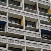 Le Corbusier, Briey, façade sud