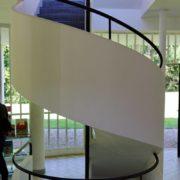 Le Corbusier, la villa Savoye, Escalier principal