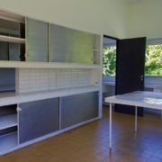 Le Corbusier, la villa Savoye, La cuisine - The kitchen