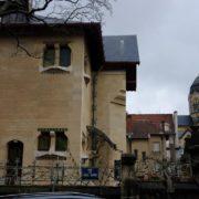 Villa Majorelle - coté rue Viel Aitre (Facade Est)