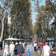 Barcelone, Les remblas vers le port