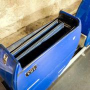 Nacelles de transport des ouvrages entre les tours et les salles de consultation.