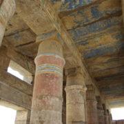 Karnac - la salle des fêtes de Thoutmosis III