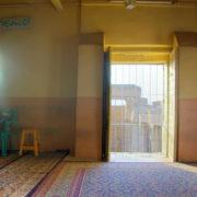 Temple de Louxor - La mosquée d'Abou el-Hagag, construite à l'intérieur du temple