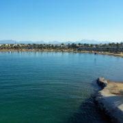 La plage de notre hotel
