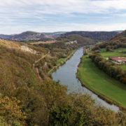 La vallée du doubs, en direction de Belfort