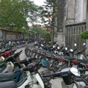 Parking 2 roues autoue de la cathédrale Saint-Joseph