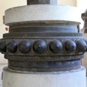 Au musee Cham de Danang: Bague mediane d'un piedestal Style de Thap Mam, XIIe siecle