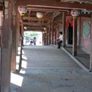 Sur le pont japonais