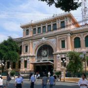 La poste principale, construite par Gustave Eiffel