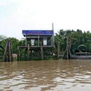 Station service pour bateaux