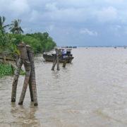Sur le Mékong: embarquement pour la croisière retour vers My Tho