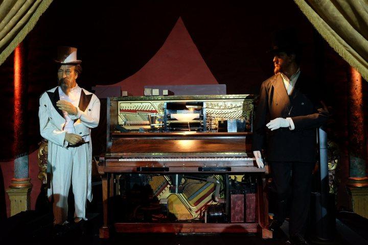 Piano enregistreur