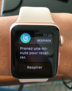 Apple watch respirez