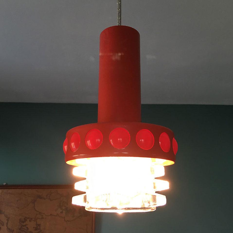 Suspension salle de bains  ovni   Millezime  lampe vintage
