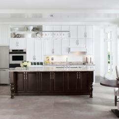 Legacy Kitchen Cabinets Two Tier Island Mill Hollow - Schrock