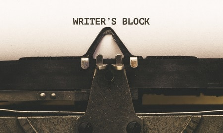 Banjaxed by writer's block?