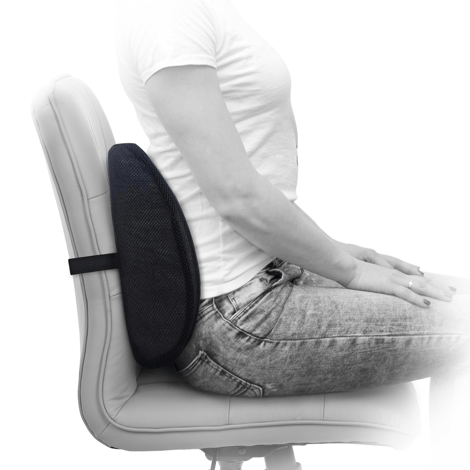 Lumbar Support Pillow For Chair Memory Foam Lumbar Support Pillow Milliard Bedding The