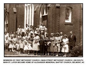 First Methodist Church, Belmont, NC