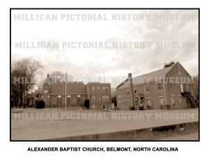 Alexander Baptist Church, Belmont, North Carolina