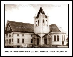 West End Methodist Church, Gastonia, NC