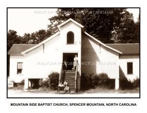 Mountain Side Baptist Church, Spencer Mountain, North Carolina