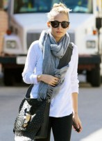 nicole richie-workout outfit