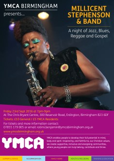 YMCA Millicent Stephenson Jazz Poster