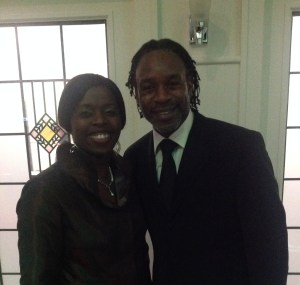 Millicent (Saxophonist) & Will Johnson (Actor)