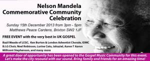 Mandela Commemorative Event