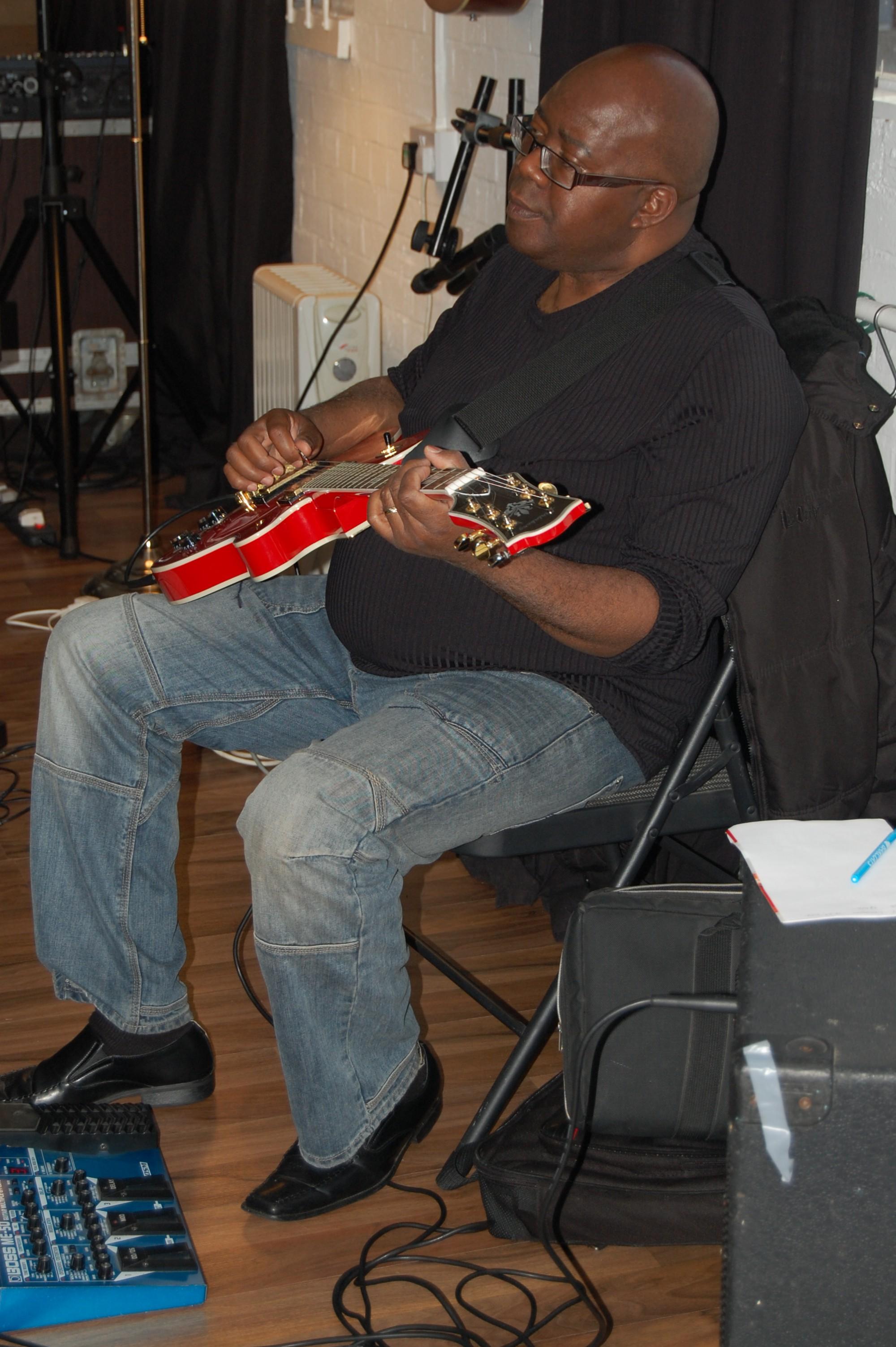 'Not Just Jazz' rehearsal: Ken