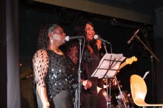 Pauline and Angie Not Just Jazz 2015 #Notjustjazz Millicent Saxophonist