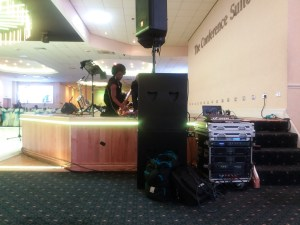 millicent-stephenson-saxophonist-setting-up-at-hervin-johnsons-funeral-theo