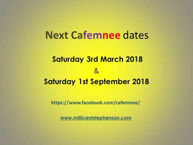 cafemnee 2018 dates