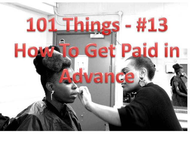 101Things 13 How_To_Get_Paid_In_Advance__Millicent_Stephenson