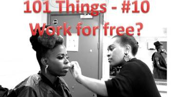 Work for Free 101 things they Don't tell you about working in the music industry 101_Things_10_work_for_free_Millicent_Stephenson