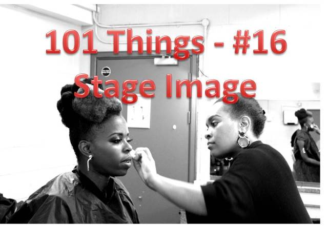 101 Things 16 Stage Image